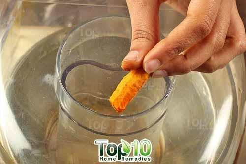 DIY arthritis juice recipe step2
