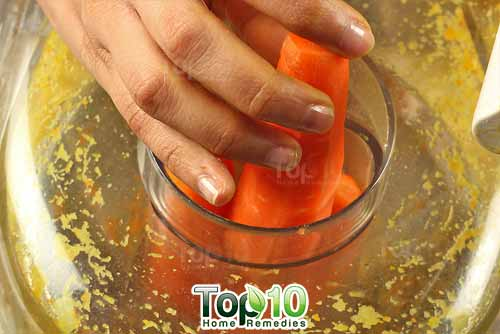 DIY arthritis juice recipe1 carrot