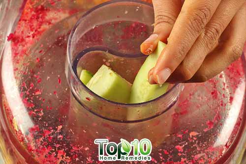 DIY arthritis juice recipe 2 step 3