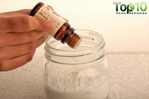 DIY baking soda air freshener step3