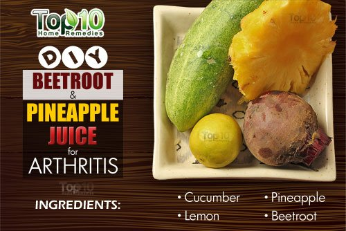 DIY beetroot juice for arthrits