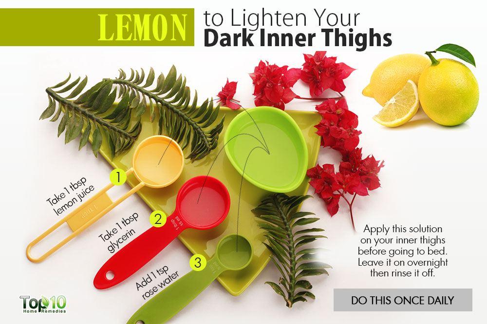 How to Lighten Your Dark Inner Thighs Naturally | Top 10 ...