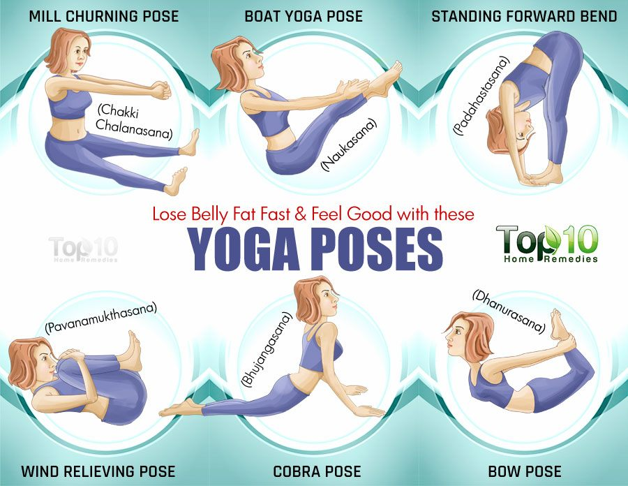 Here Are Some Of The Yoga Poses That Help Beat Belly Fat Fast