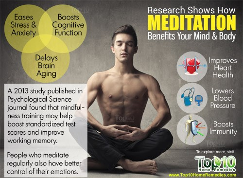 research shows benefits of meditation