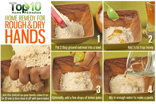 Home Remedy for dry and Rough Hands