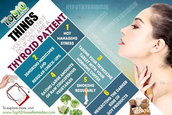 things thyroid patients should avoid