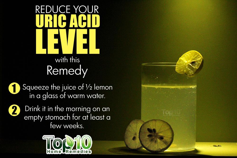 10 Natural Ways To Lower Uric Acid Levels Top 10 Home