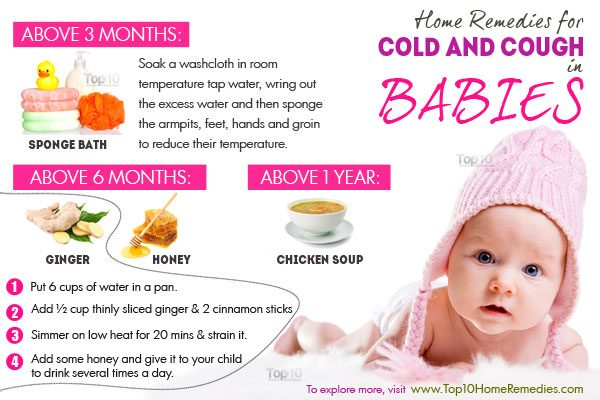Home Remedies Colds Babies