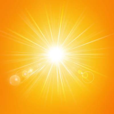 avoiding sun