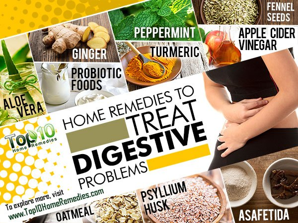 home remedies to treat digestion