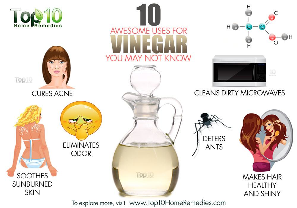 10 Awesome Uses For Vinegar You May Not Know Top 10 Home