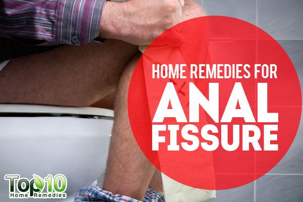 Home treatment for anal fissure