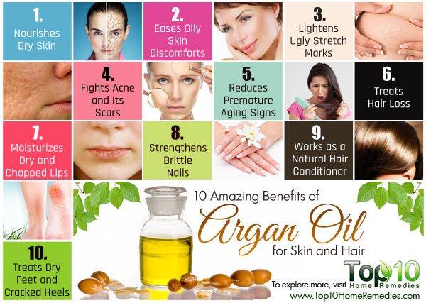 преимущества масла арганы для кожи и волос