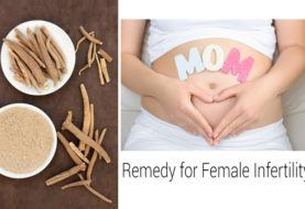 Home Remedies for Female Infertility (Sterility)