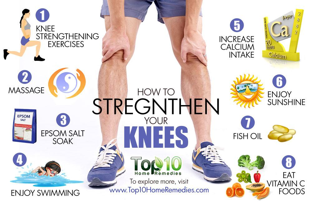 How to Strengthen Your Knees | Top 10 Home Remedies