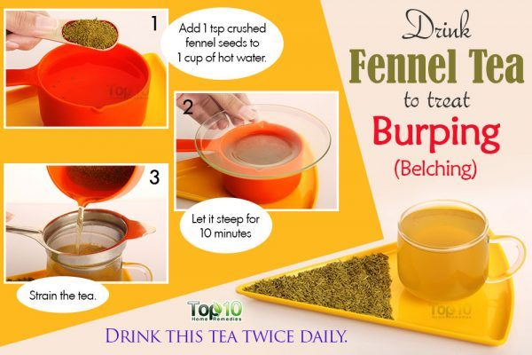 fennel tea for burping