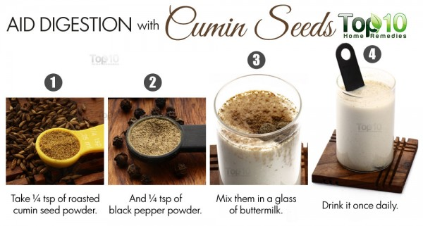 aid digestion with cumin seeds