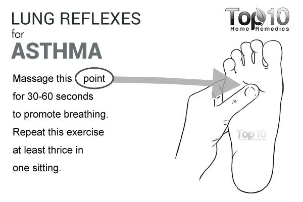 lung reflexes for asthma