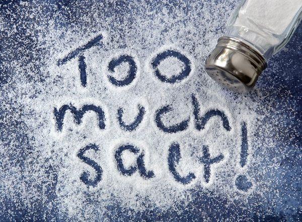 avoid excess salt