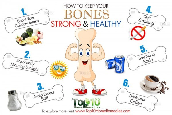tips to get strong and healthy bones