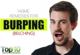 Home Remedies for Burping (Belching)