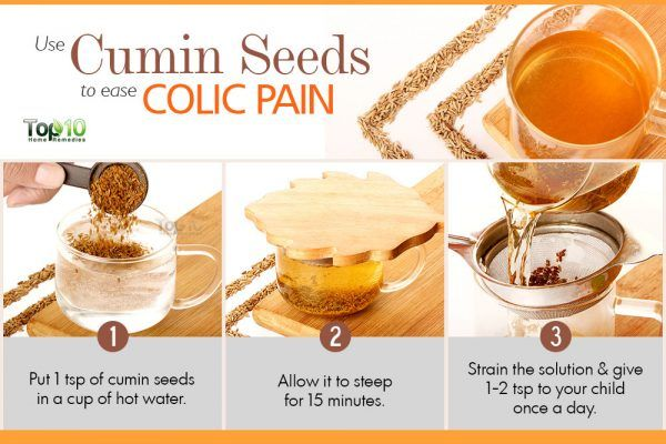 ease colic pain with cumin seeds