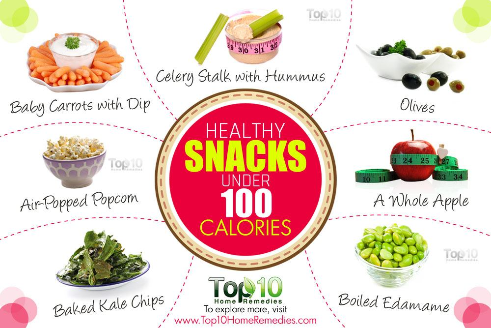 Healthy Snack Foods With Low Calories