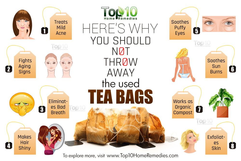 Here 39 S Why You Should Not Throw Away Used Tea Bags Top