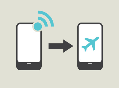 cell phone airplane mode