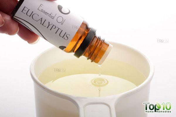 add eucalyptus oil