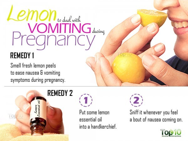 How to Deal with Vomiting During Pregnancy | Top 10 Home Remedies