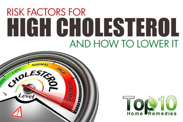 10 Risk Factors For High Cholesterol And How To Lower It