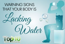 10 Warning Signs that Your Body is Lacking Water