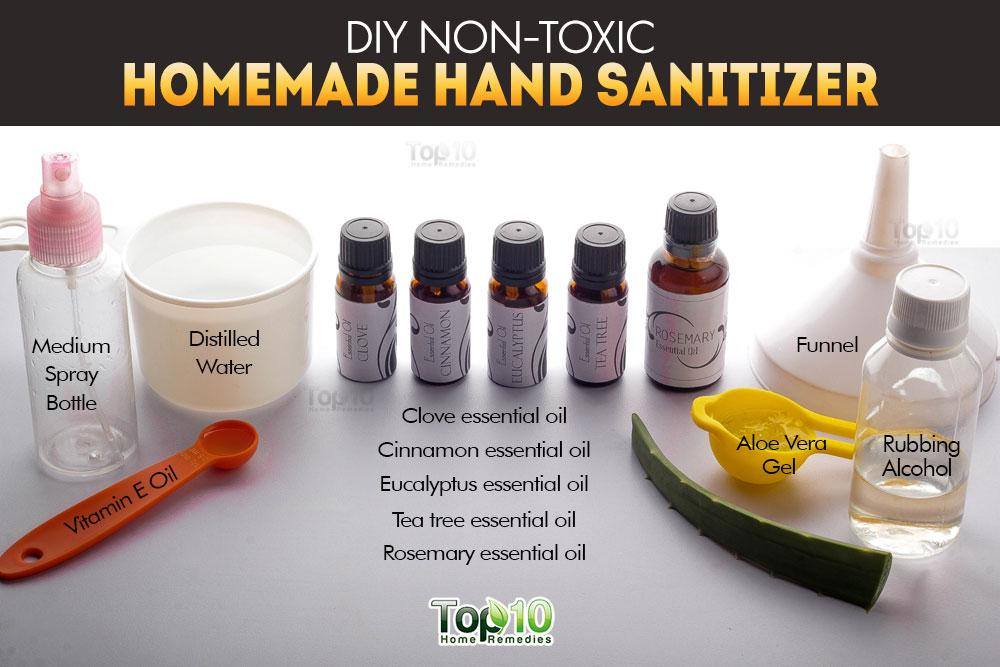 Diy Nontoxic Homemade Hand Sanitizer Top 10 Home Remedies