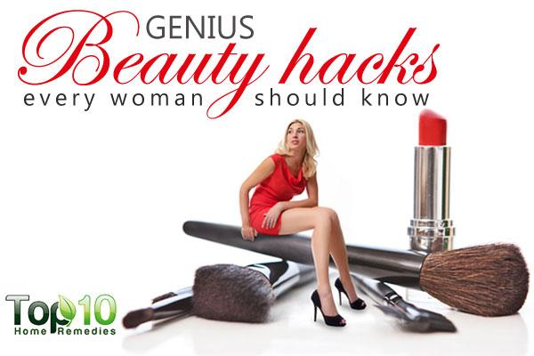 genius beauty hacks every woman should know