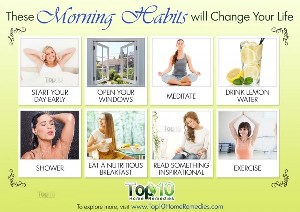 morning habits that will keep you healthy