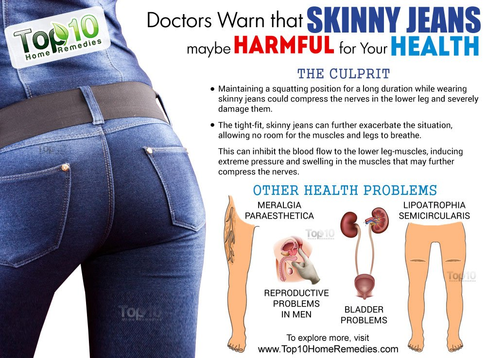 Doctors Warn that Skinny Jeans may be Harmful for Your ...