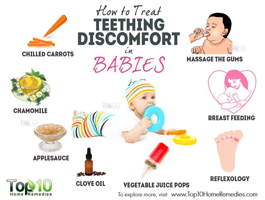How To Treat Teething Discomfort In Babies Top 10 Home