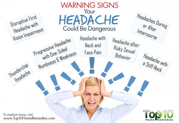 warning signs that headache could be dangerous