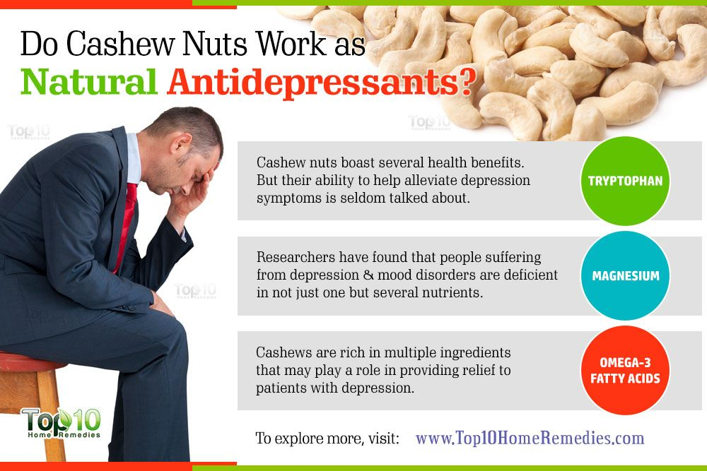 Cashews, a Cure for Depression? - Natural Wellness