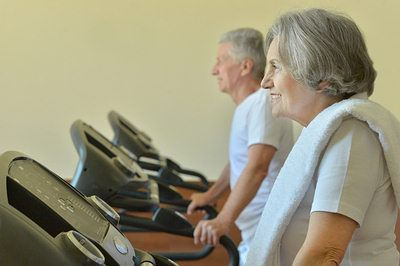 aged people exercise