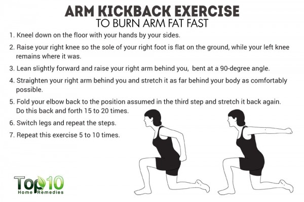 arm kickback exercise