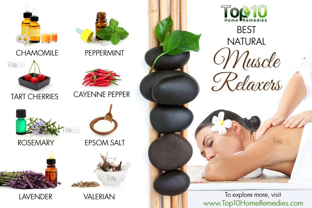 10 Best Natural Muscle Relaxers | Top 10 Home Remedies