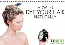 How to Dye Your Hair Naturally