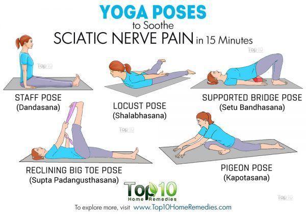 yoga poses for sciatica pain