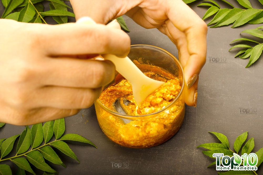 DIY Turmeric Face Mask to Treat Acne, Wrinkles, Scars and Dark ...