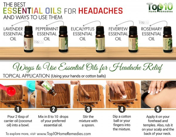best essential oils for headache