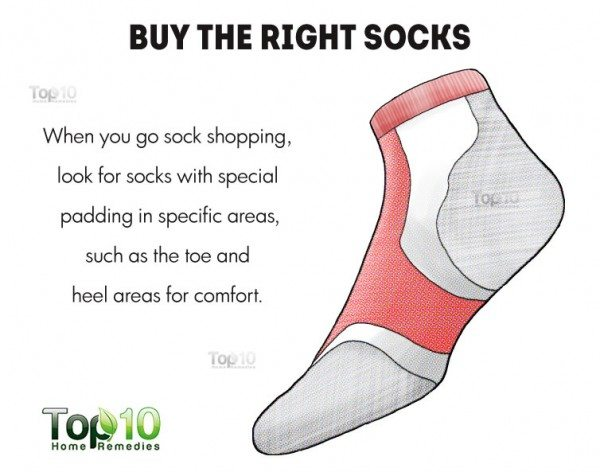 buy the right socks