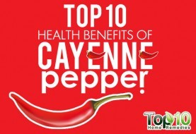 Top 10 Health Benefits of Cayenne Pepper