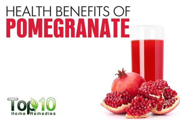 essays about health benefits of pomegranate